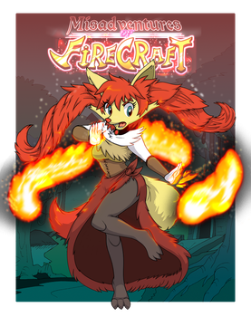 COVER: Misadventures of Firecraft by Rexcalibur25
