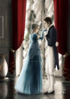 Jane Bennet and Colonel Fitzwilliam by gppr