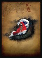 Bodhidharma by psyfre