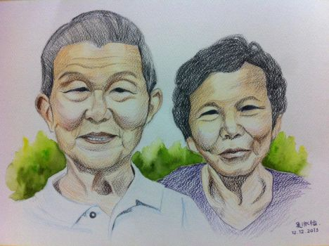 Grand Parents by ngwinyi