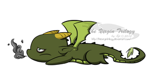 Linwood Drago Chibi by CyphonFiction
