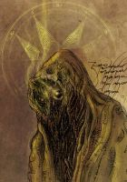 Goomicronicon Page Hastur III Detail by goomi32