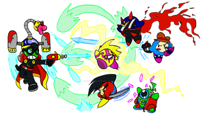 LS- Fawful VS Waddle Gang by Rhay-Robotnik