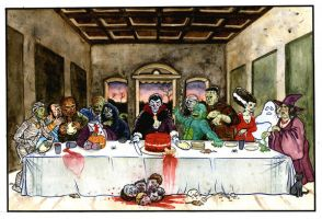 The Last Supper by darkwaterfrey