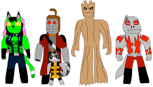 Guardians of the Galaxy by jacobyel