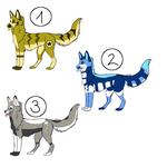 Canine Adoptables [OPEN] by DlN0RAWR