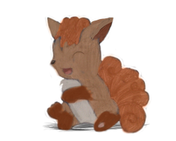 Request - Vulpix by MadnessOfMana