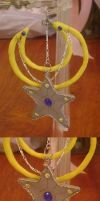 Moon and star pendent by TheriaRose