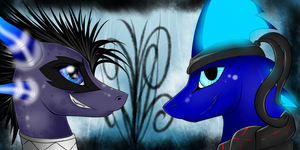 .:Flay and Solistice icon:. by Asqard