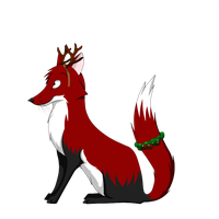 george the christmasfox by TwoEye
