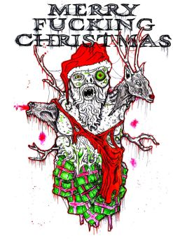 Mutated Santa by ayillustrations