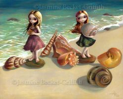 By the Seaside by jasminetoad