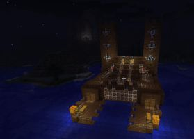 Minecraft Water House by EnderCane