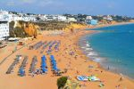 Albufeira Beach in Portugal by Pillowbox