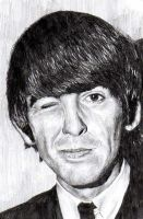 George Harrison by BonaScottina
