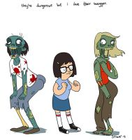 Zombie Swagger by HarpyMarx