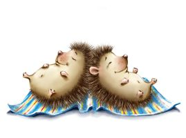 hedgehogs 1 by elix0510