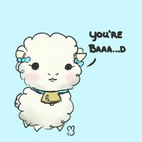 Sheepie says you're Baaad by Kiwiibuns