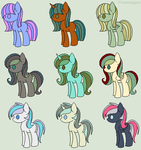 The 7 virtues~ by Queen-of-the-Dots