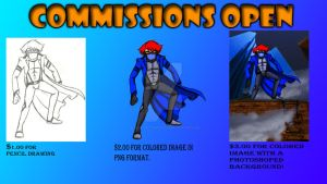 Commissions Open by BlueJacketChronicles