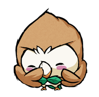 Rowlet WWS by the19thGinny