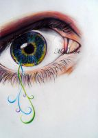 Eye Drawing by stardust12345