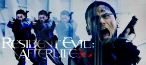 Resident Evil: Afterlife WM by zecuy