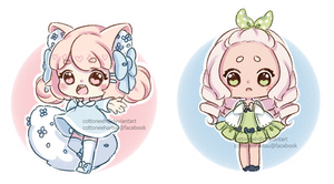 [Closed] Crayon Babies by Cottoneeh