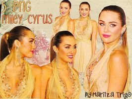 Pack 5 PNG Miley Cyrus by SandHansen