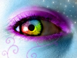 .:Rainbow Eye:. by Lemonlini