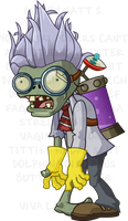 PvZ - Scientist by FluffyMystic