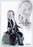 Polymer doll figure by Agamerswork