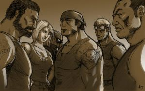 Ultimate Gears of War 3 by arsenalgearxx