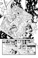 Invincible 83 page 11 Inks by jessemunoz