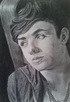 Nathan Sykes by GokkiVanGogh