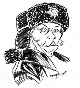 Frances McDormand Caricature by kyungjin74