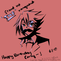 .: Gift : CFV : Happy Birthday Carly :. by L-Y-R-I-E