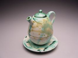 Slipcast Teapot by Robmat
