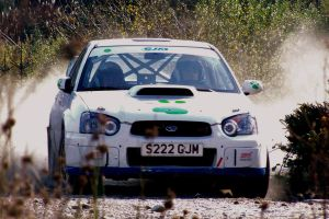 Rallying subaru by henzunducks