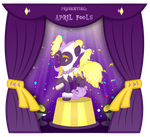 DTA Entry #2 - April Fool Pondpony by MyPaintedMelody