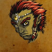 Young Ganon is not amused. by Iroas
