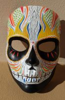 Day of the dead style mask by FROSTBYTE-BWM