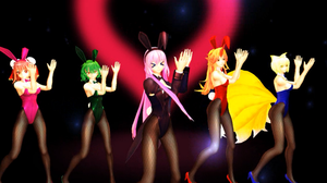[MMD] Bunnys by Montecore ~ Renai Circulation by virsuz