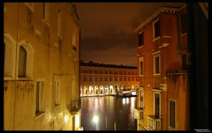 Grand Canal at Night by Dispozition