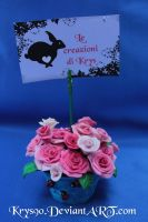 Picture Frames jar of roses for sale! by Khrys90