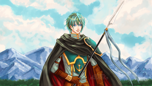 Ephraim of Renais by AngelLeila