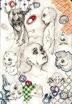 binding of Isaac scetches by Alarimaa
