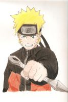 Shippuden Naruto by Cloudyh