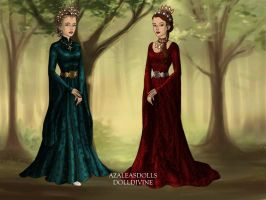 Two Queens Of Cyrria by HetaliaPossessed