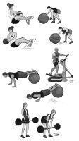 Exercise of the week set 4 by random-syhn